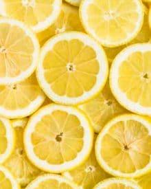Những lợi ích của chanh với sức khỏe