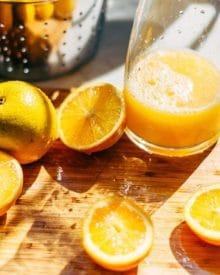 5 Tác dụng của nước cam