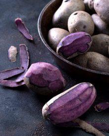 Những tác dụng tuyệt vời của khoai tây tím