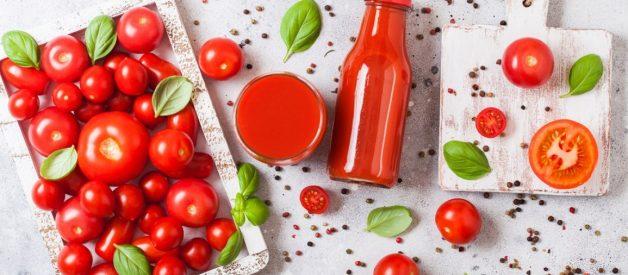 Những tác dụng của nước ép cà chua